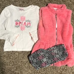 3 piece set size 6 girls
